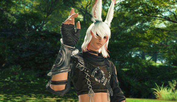 Final Fantasy 14's new, playable male Hrothgar class