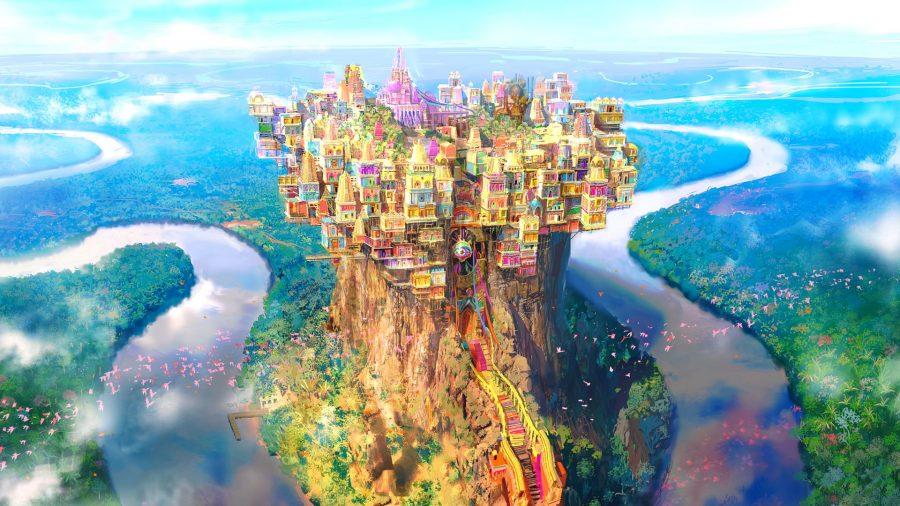 City of Radz-at-Han in FFXIV Endwalker