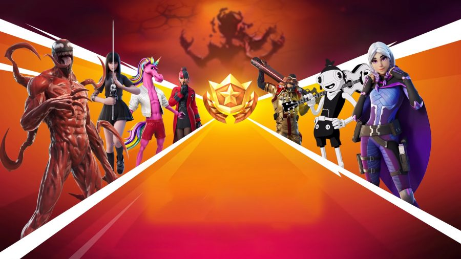 All seven of the unique skins in the Fortnite Chapter 2 Season 8 battle pass