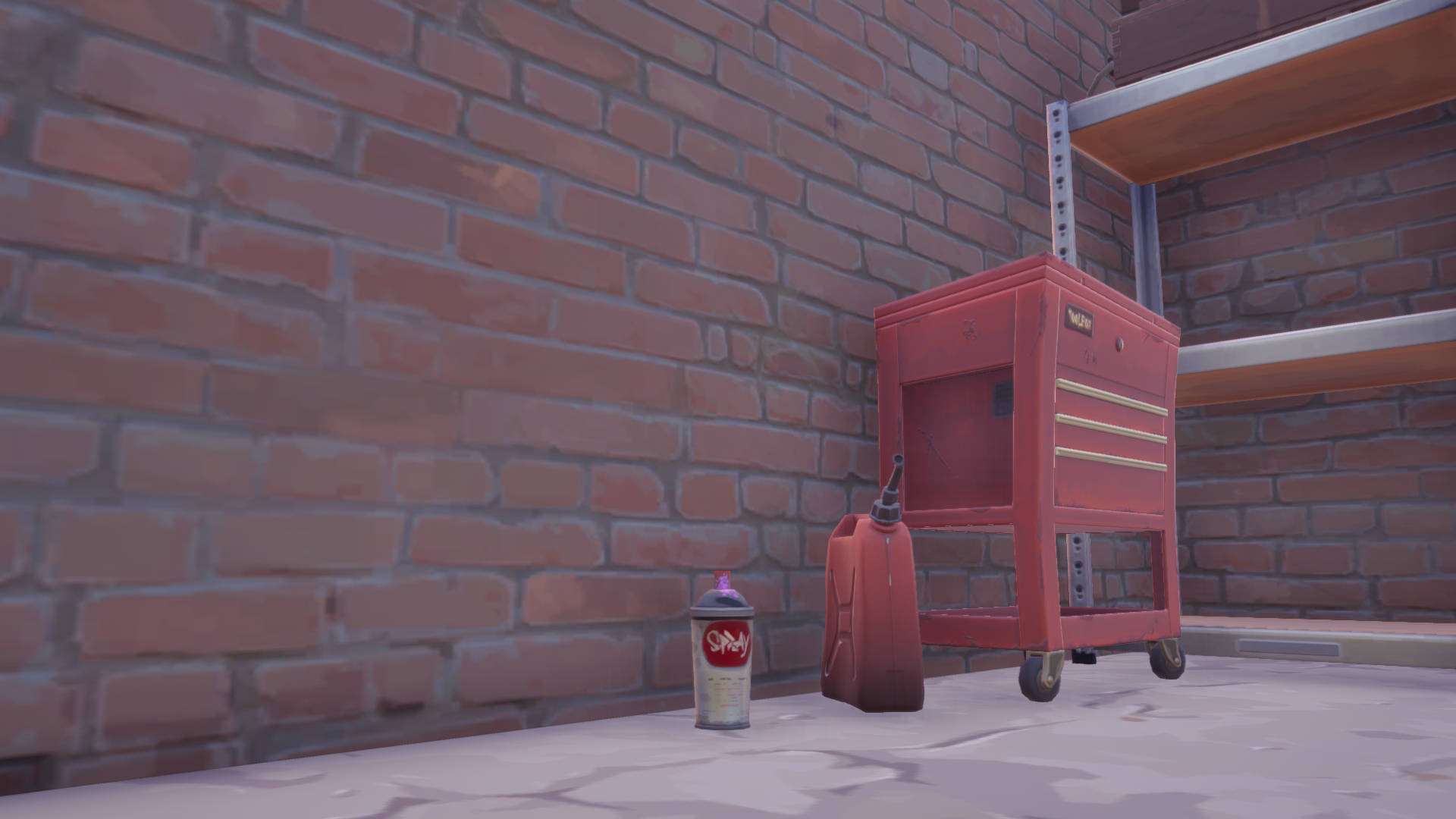 Fortnite – collect spray cans from warehouses in Dirty Docks or garages in Pleasant Park