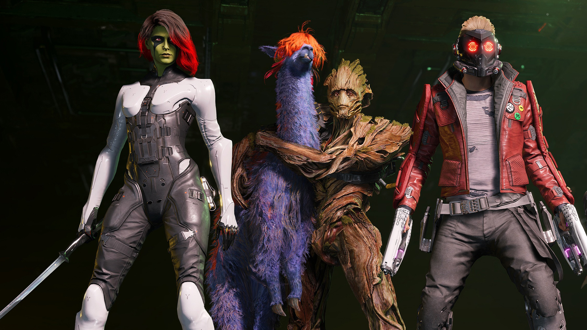 That weird purple space llama in Guardians of the Galaxy has a fan-familiar name
