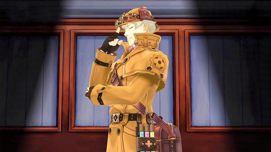 Sherlock Holmes in Great Ace Attorney on PC