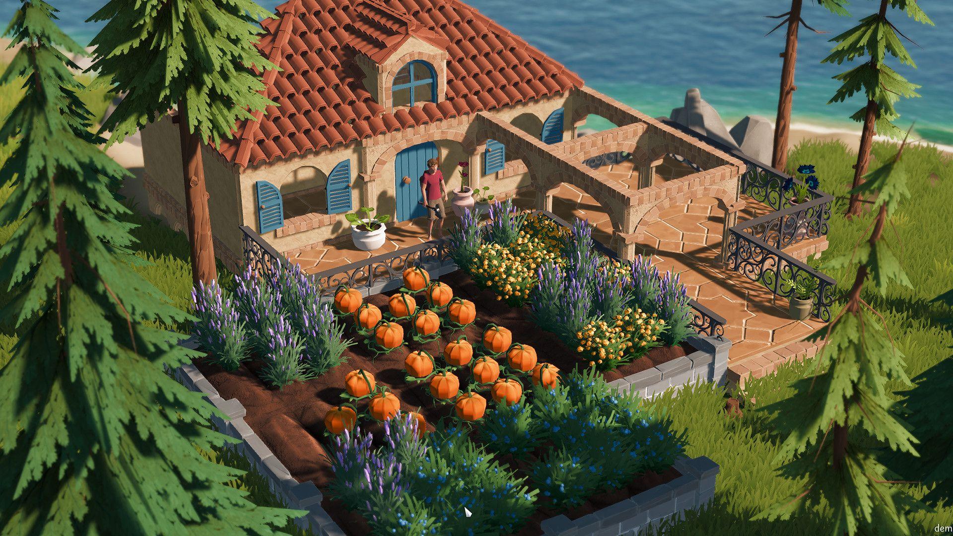 Gorgeous dungeon crawler-farming sim mashup Len's Island gets free demo at Steam Next Fest