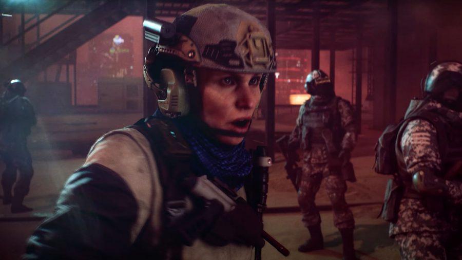 Maria Falck in Battlefield 2042