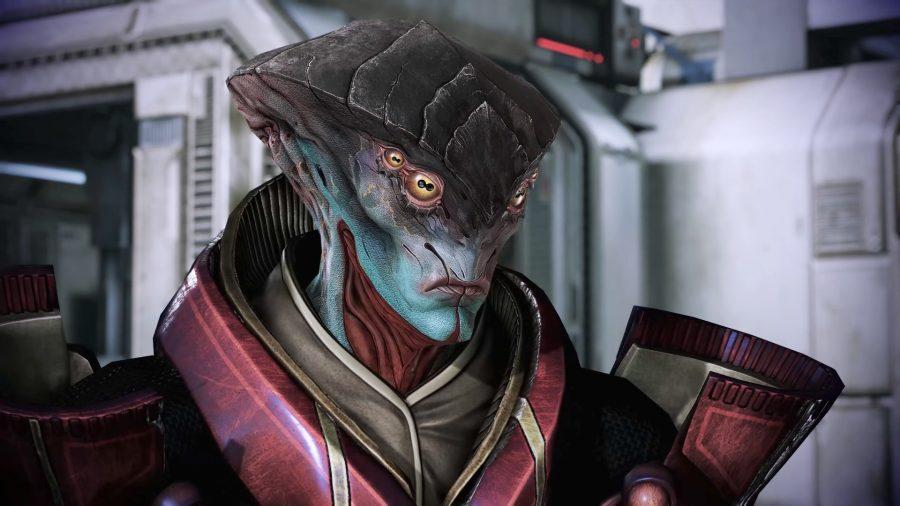 Javik, a Mass Effect companion