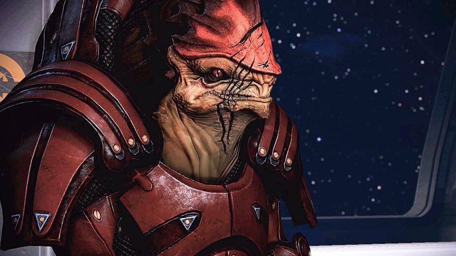Wrex in Mass Effect 3