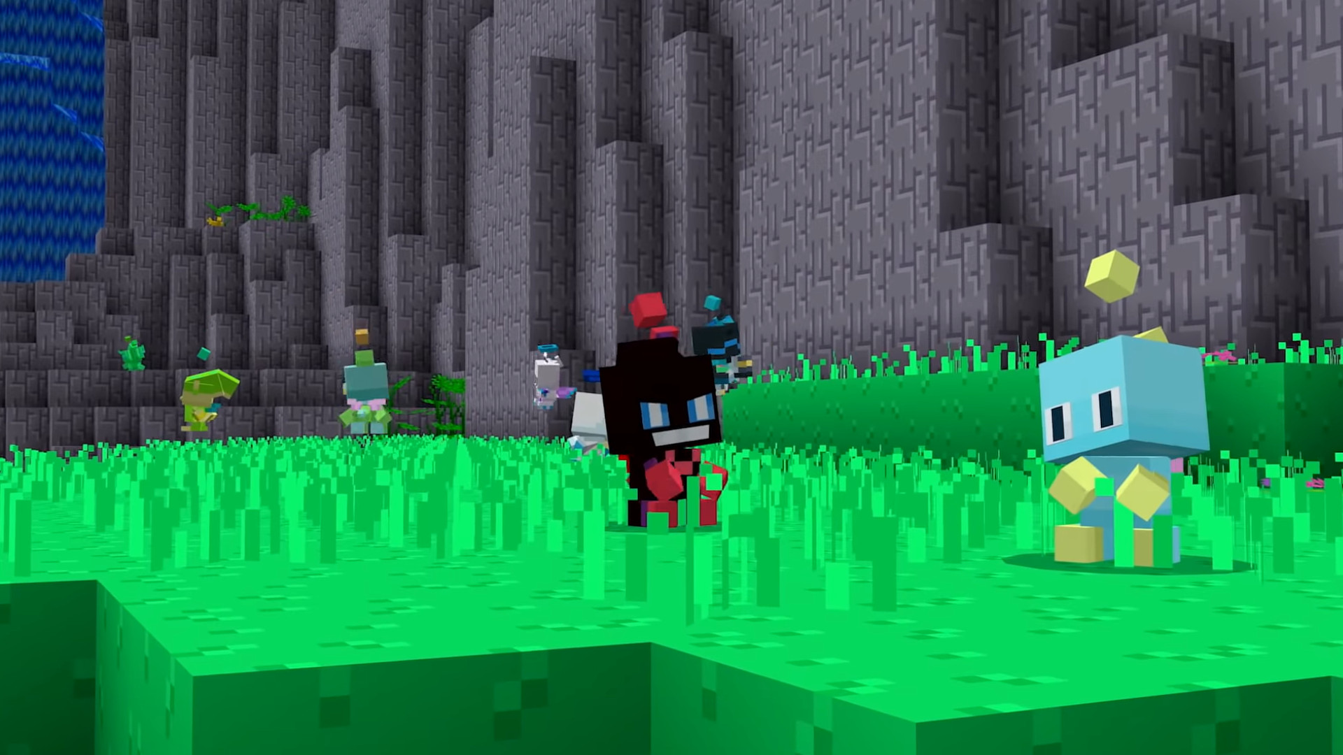 They put full Sonic levels and a Chao Garden in this Minecraft DLC