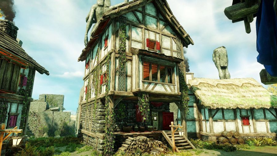 Player house in Mourning Dale in New World