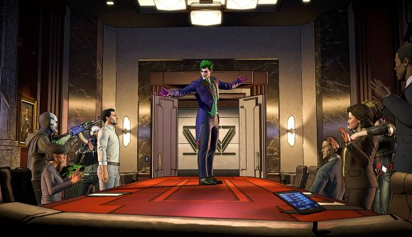 The Joker takes to the table in Batman: The Enemy Within