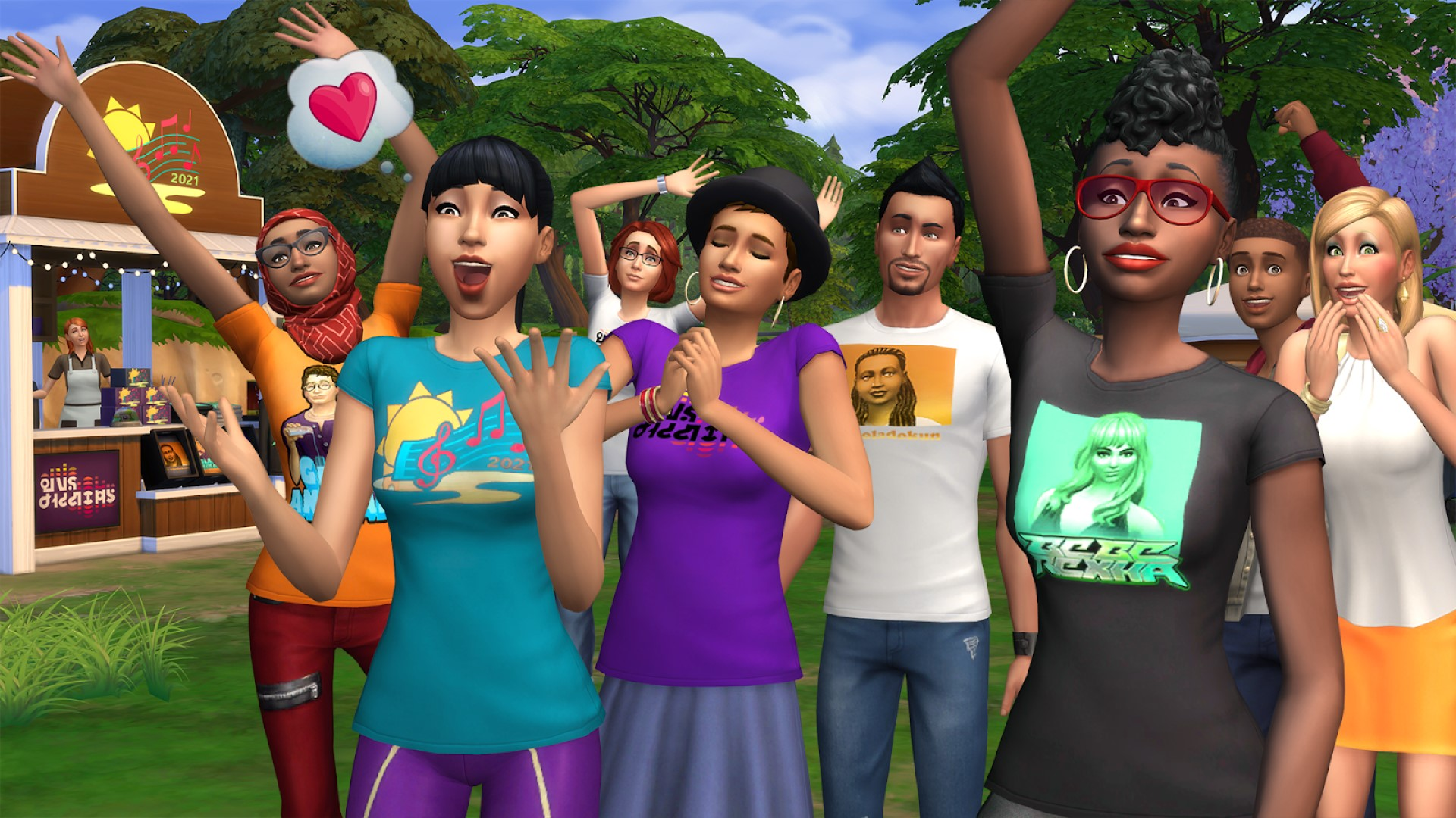 The Sims 4 will host a music festival with Bebe Rexha next week