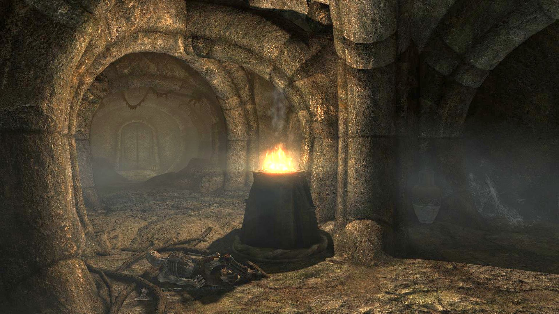 A Skyrim modder is enhancing its dungeons and doubling their sizes