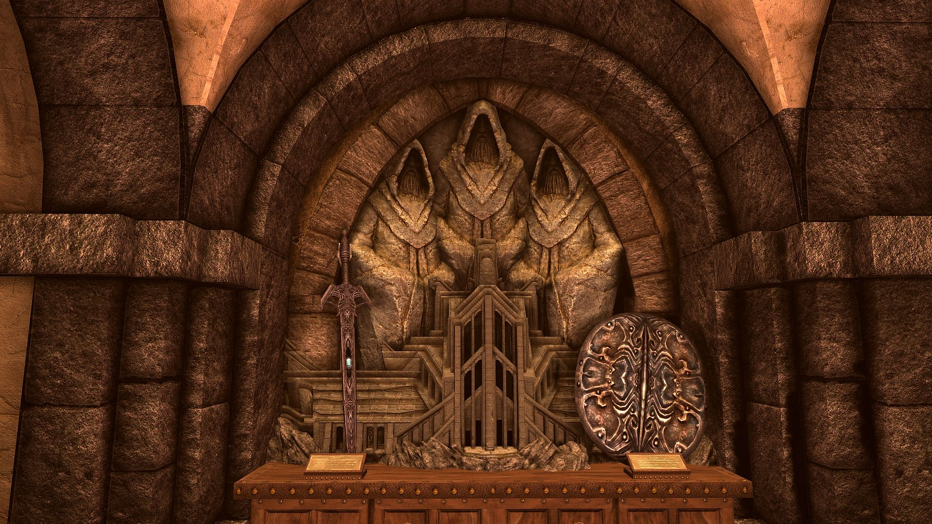 This Skyrim mod adds new dungeons, a museum, and hundreds of artefacts
