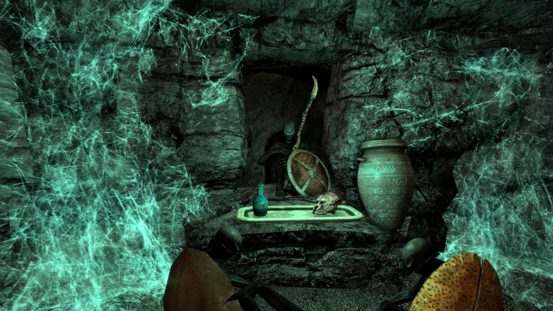 Skyrim-with-Morrowind mod Skywind still looks incredible, and still sounds a long way off