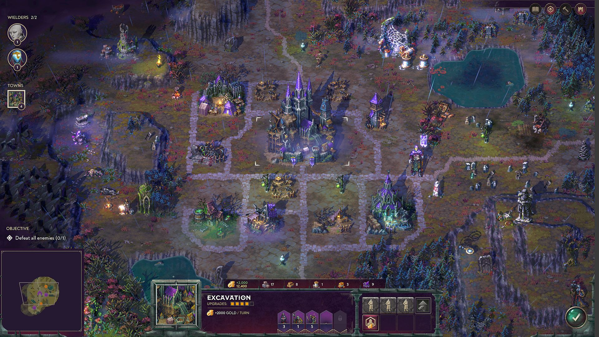 Pixel art fantasy-strategy game Songs of Conquest releases early 2022