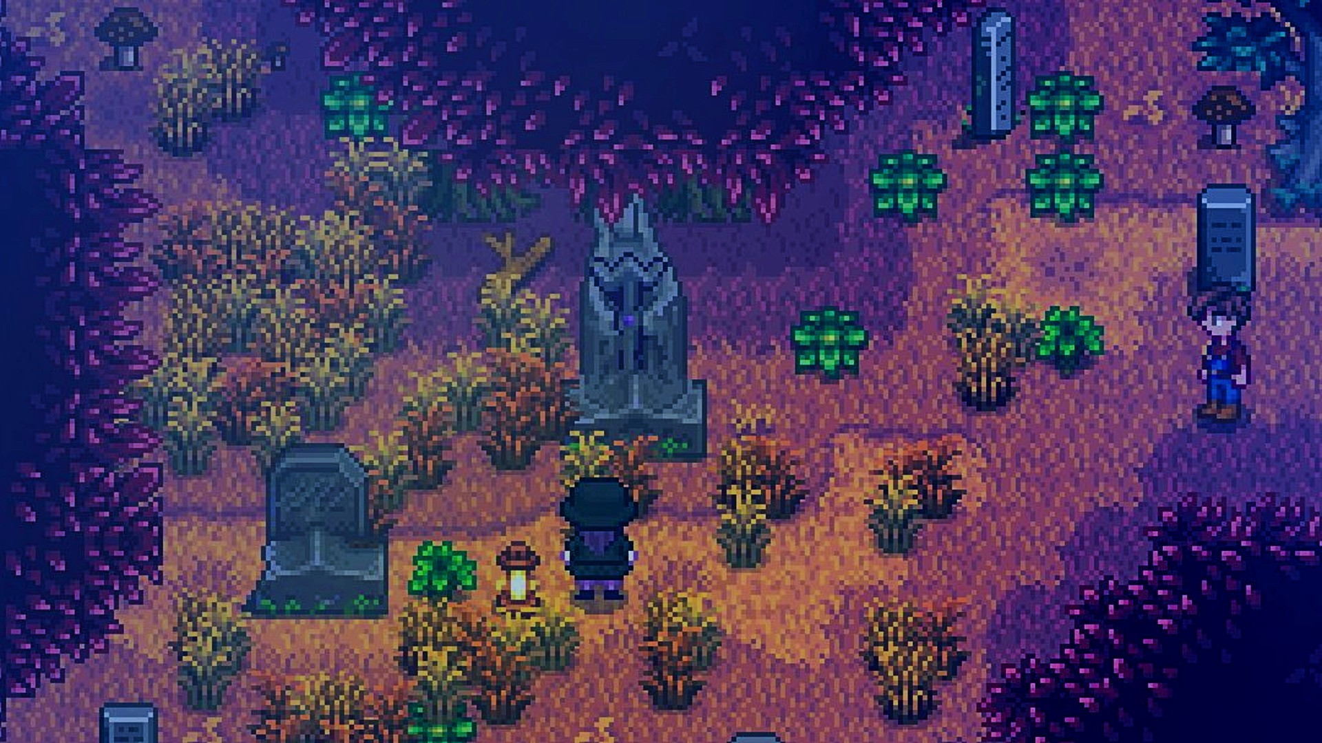 This Stardew Valley mod adds a missing persons mystery to solve
