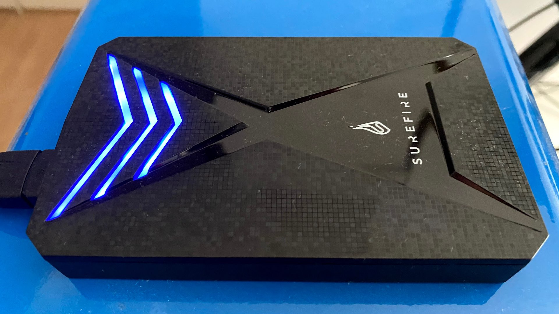 Surefire GX3 external gaming SSD review – storage with style