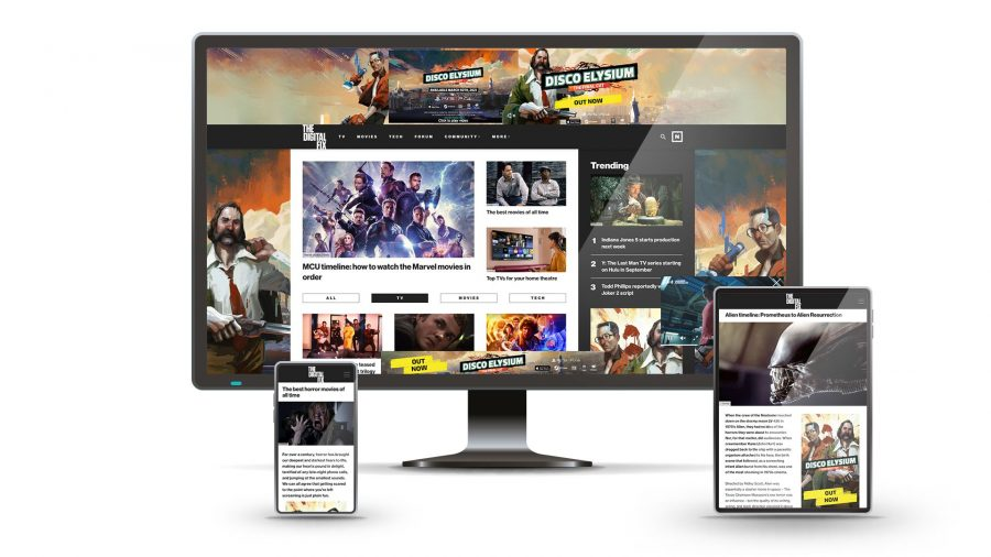 The Digital Fix relaunch on desktop, tablet, and mobile