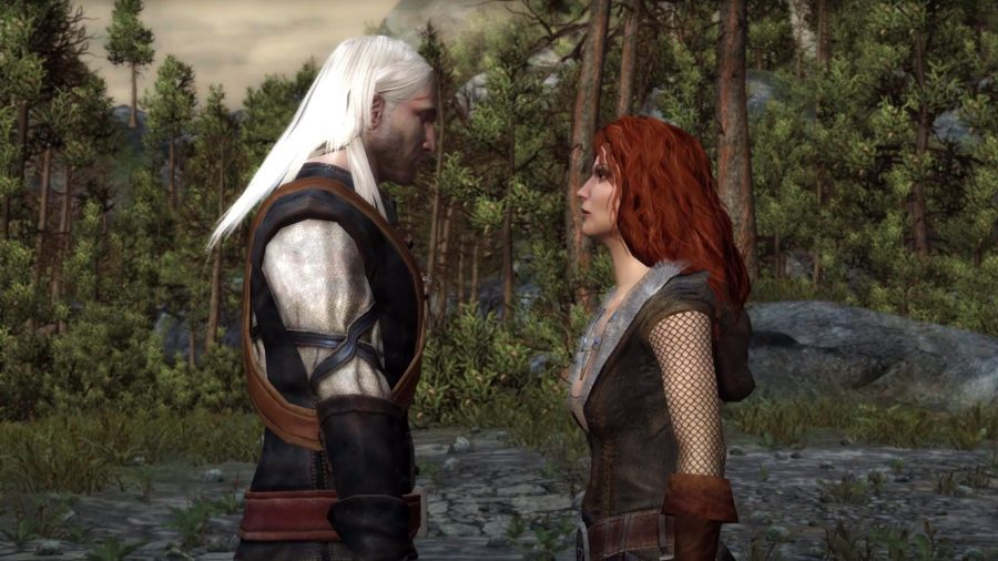 Romance in The Witcher 1