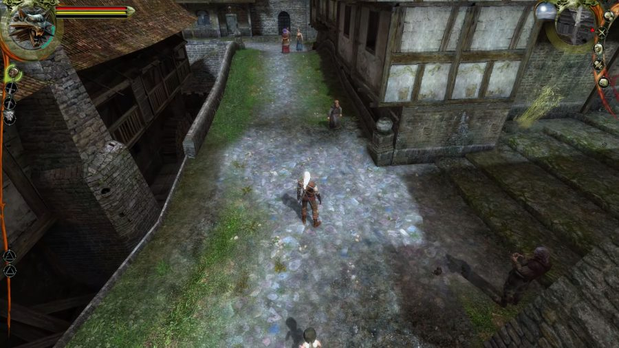 Vizima in The Witcher 1