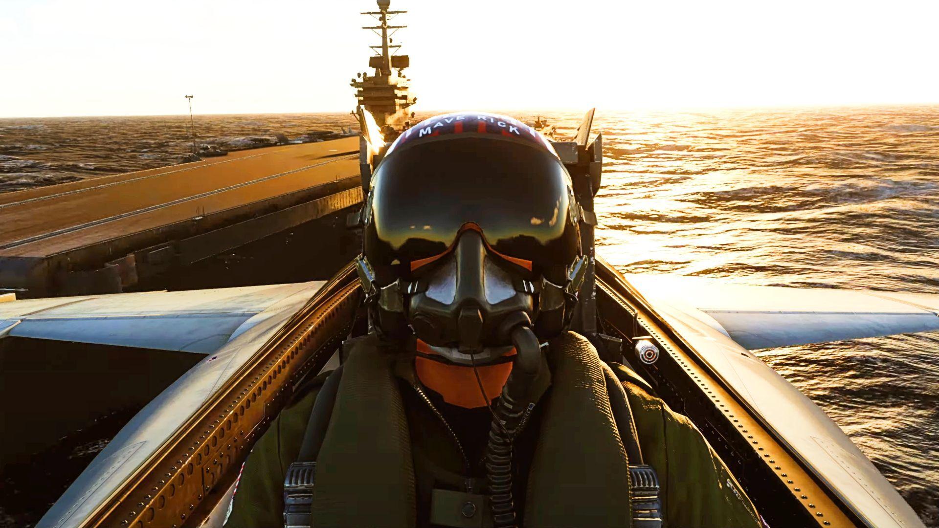 Microsoft Flight Simulator is getting a free Top Gun update this Fall