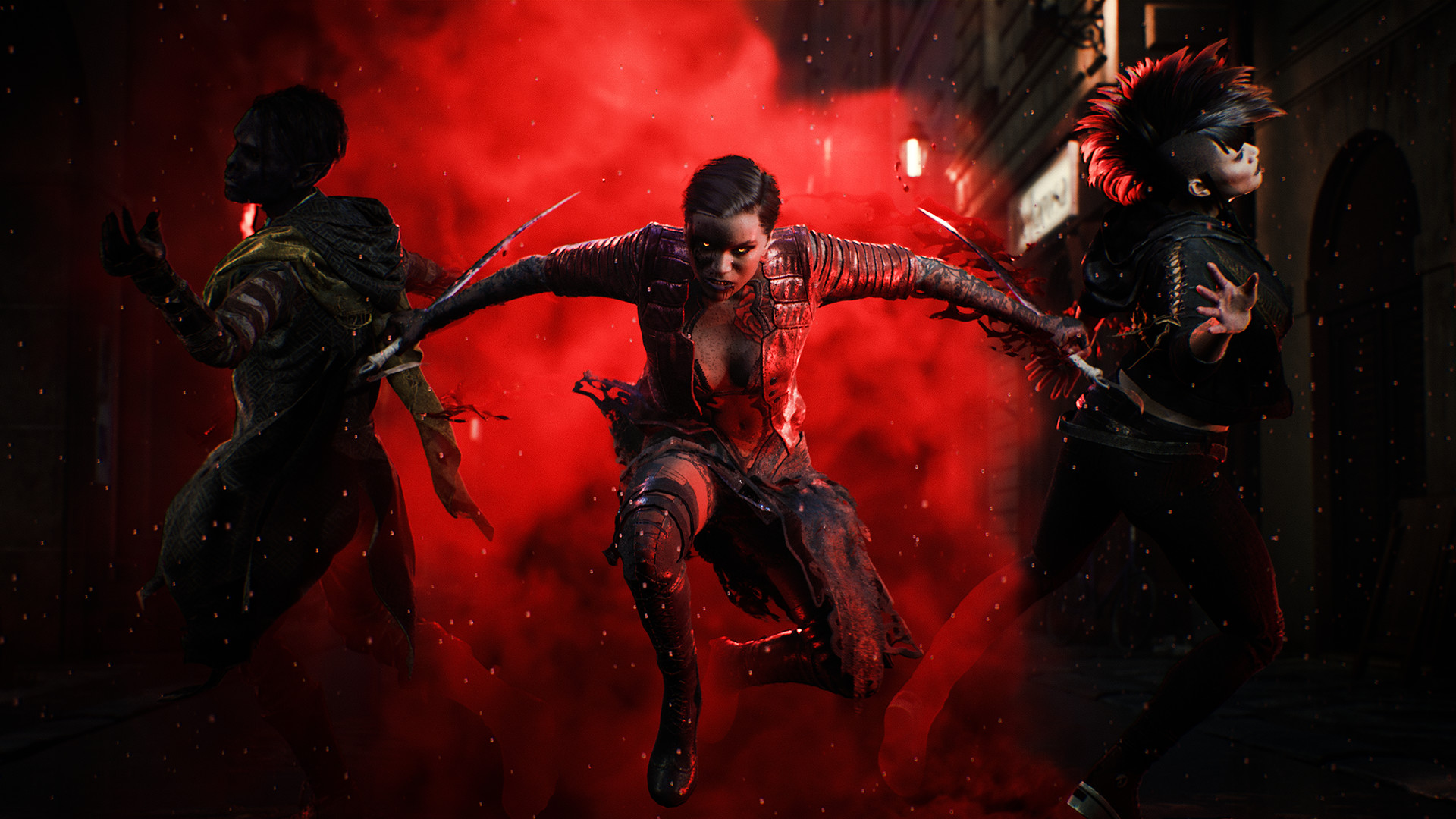 Bloodhunt is a new battle royale set in the world of Vampire: The Masquerade
