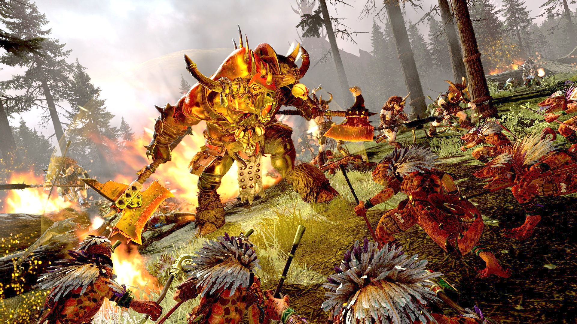 The final Total Warhammer 2 DLC means we can all stop dunking on the Beastmen