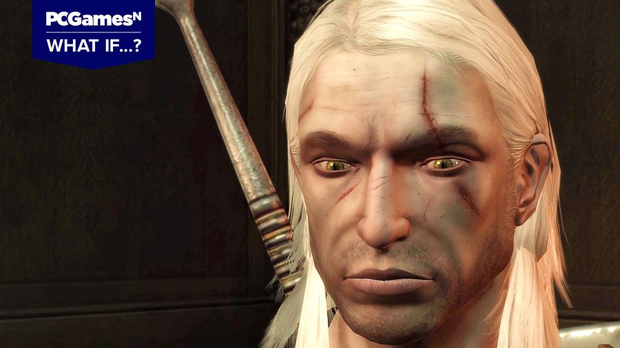 Geralt from The Witcher 1