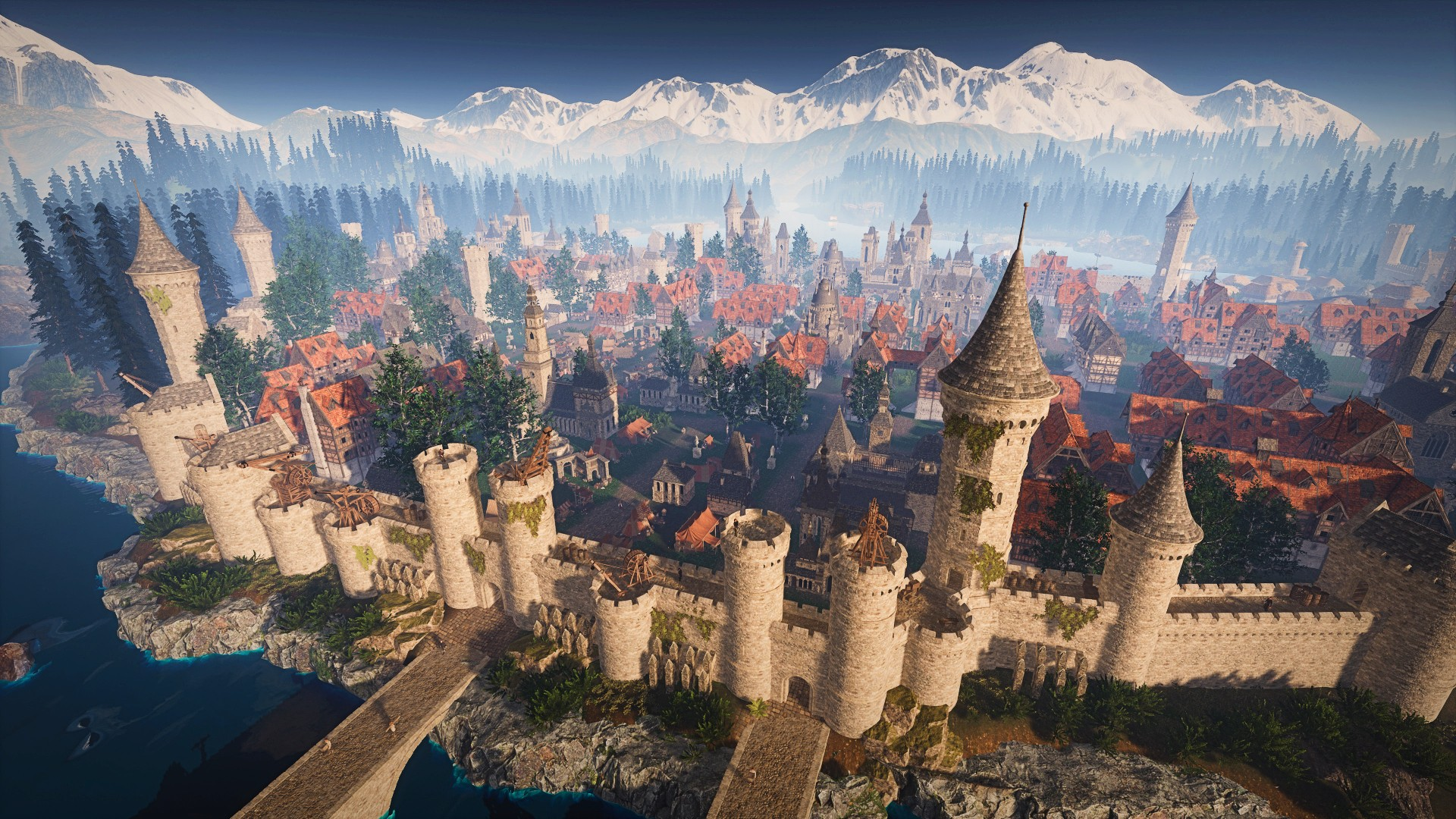 Feudal Baron is a medieval city builder where you play a rich middle man