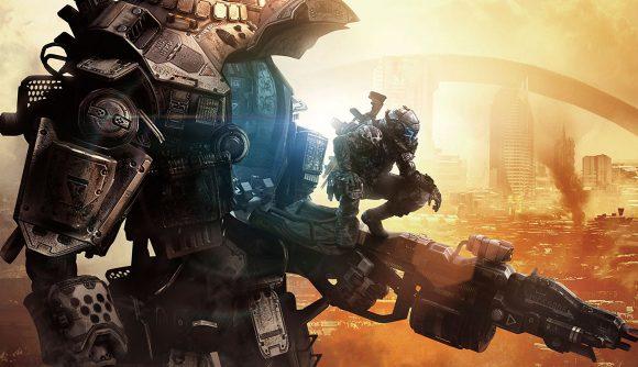 Titanfall Apex Legends team