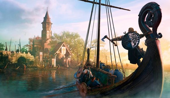 Vikings head toward England in Assassin's Creed Valhalla