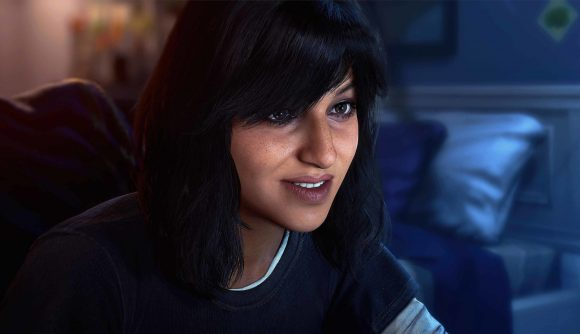 Ms. Marvel as she appears in the Avengers game, which is currently offering a free weekend