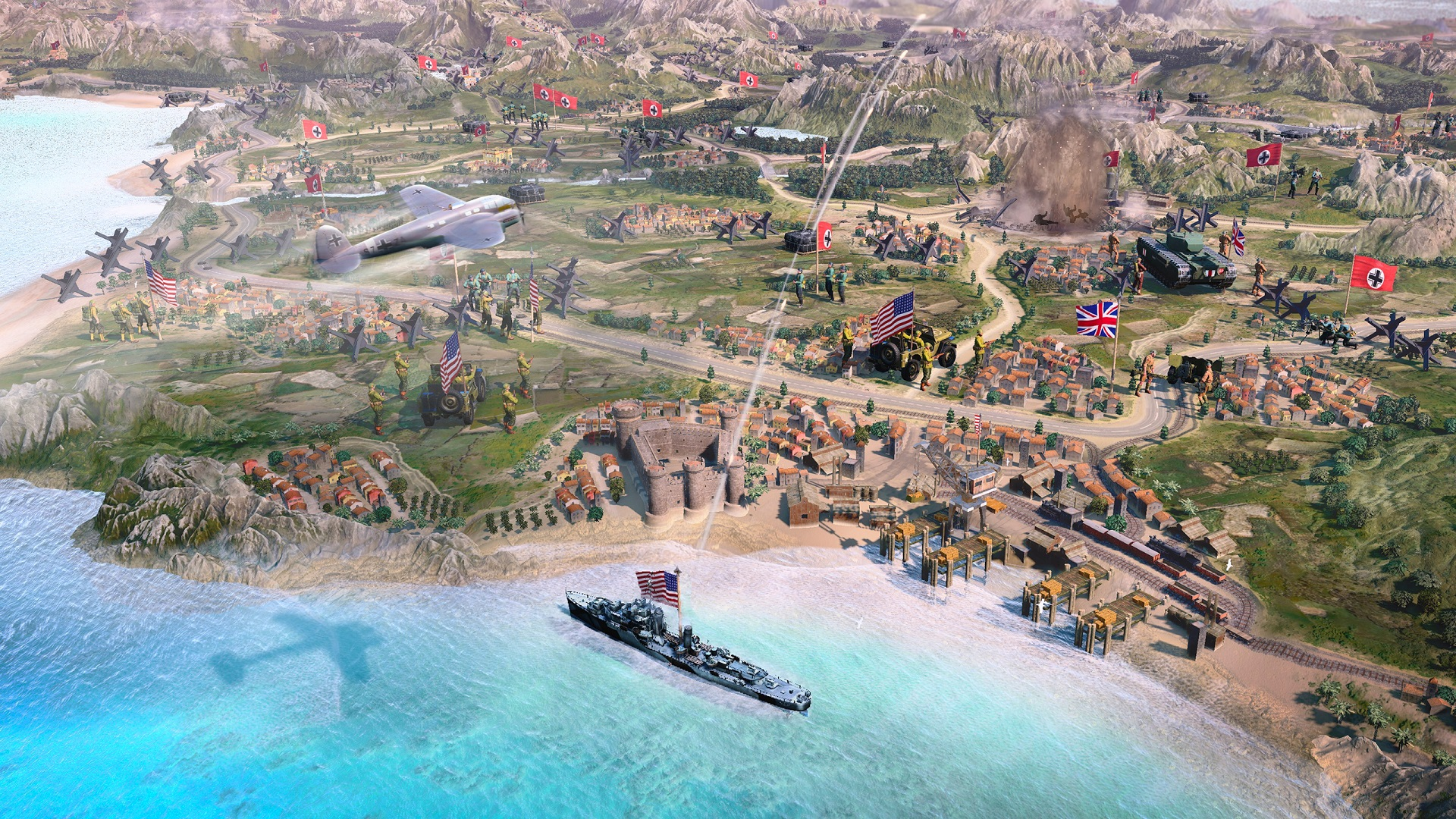 """Company of Heroes 3 will """"deliver the biggest and best"""" entry to date"""
