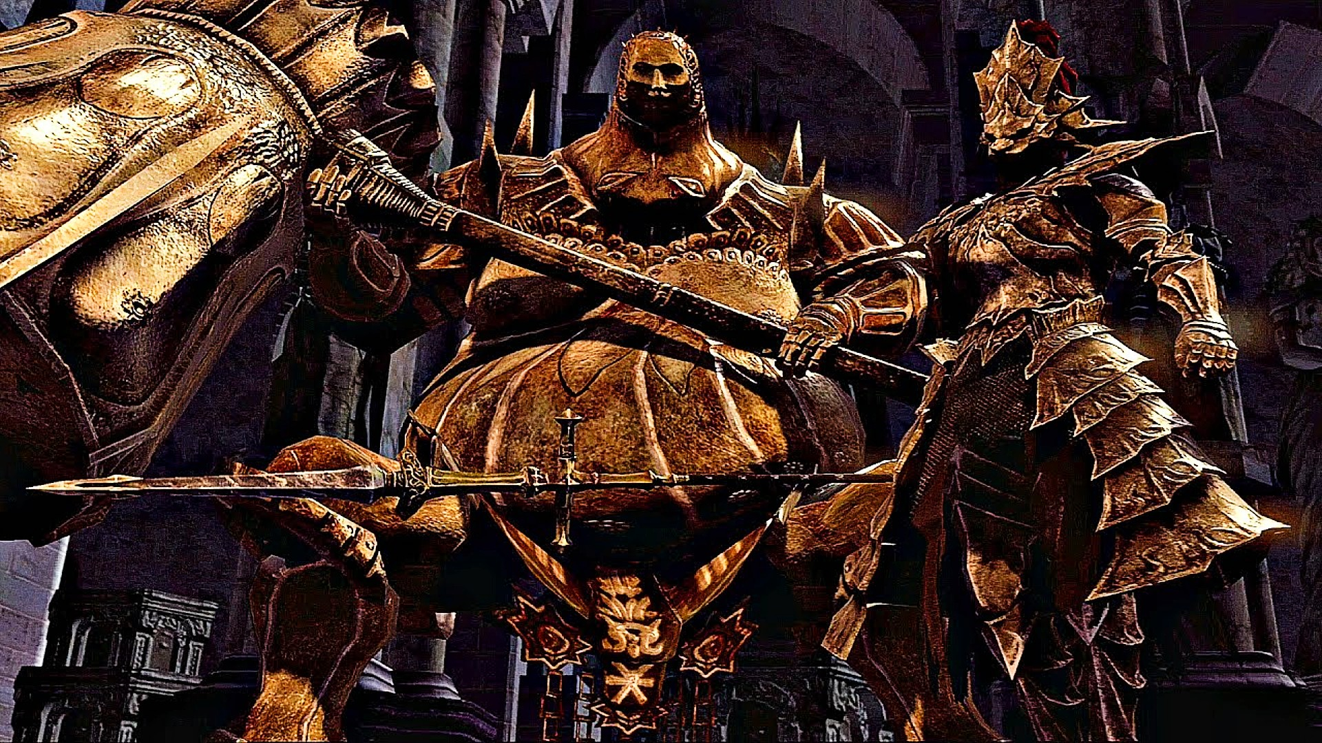 Dark Souls player beats toughest bosses by rolling at them