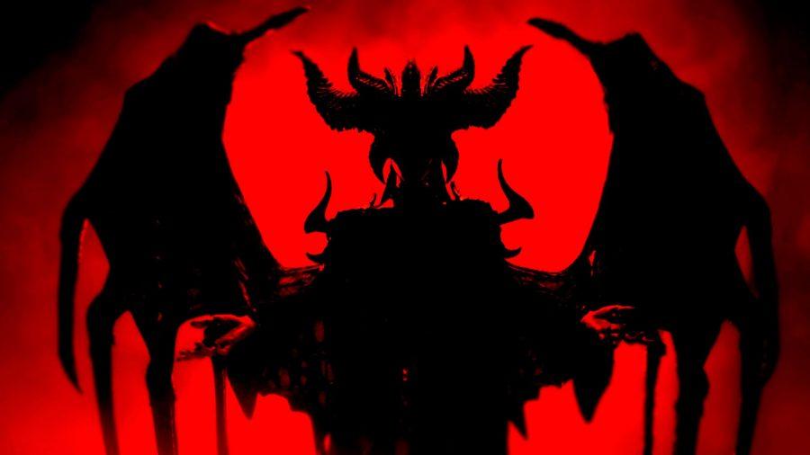 Diablo 4 Lilith silhouette