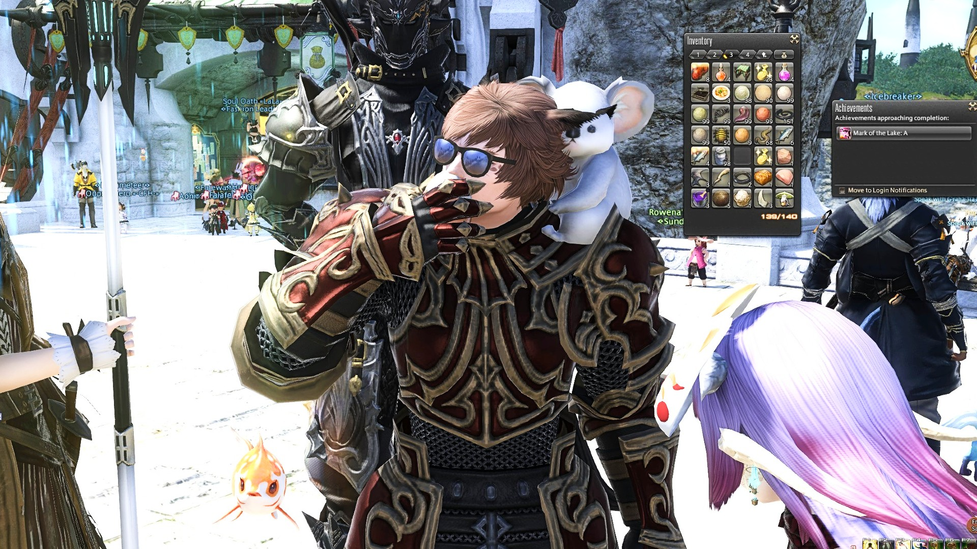 FFXIV player won't stop streaming until he eats 138k eggs