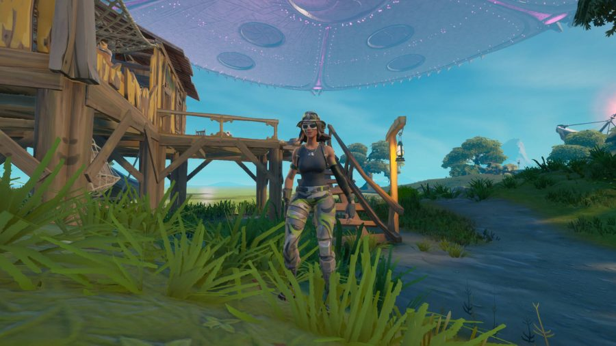 Swamp Hunter is one of the Fortnite NPCs you need to mindwipe. Bunker Jonesy and Human Bill are the others.