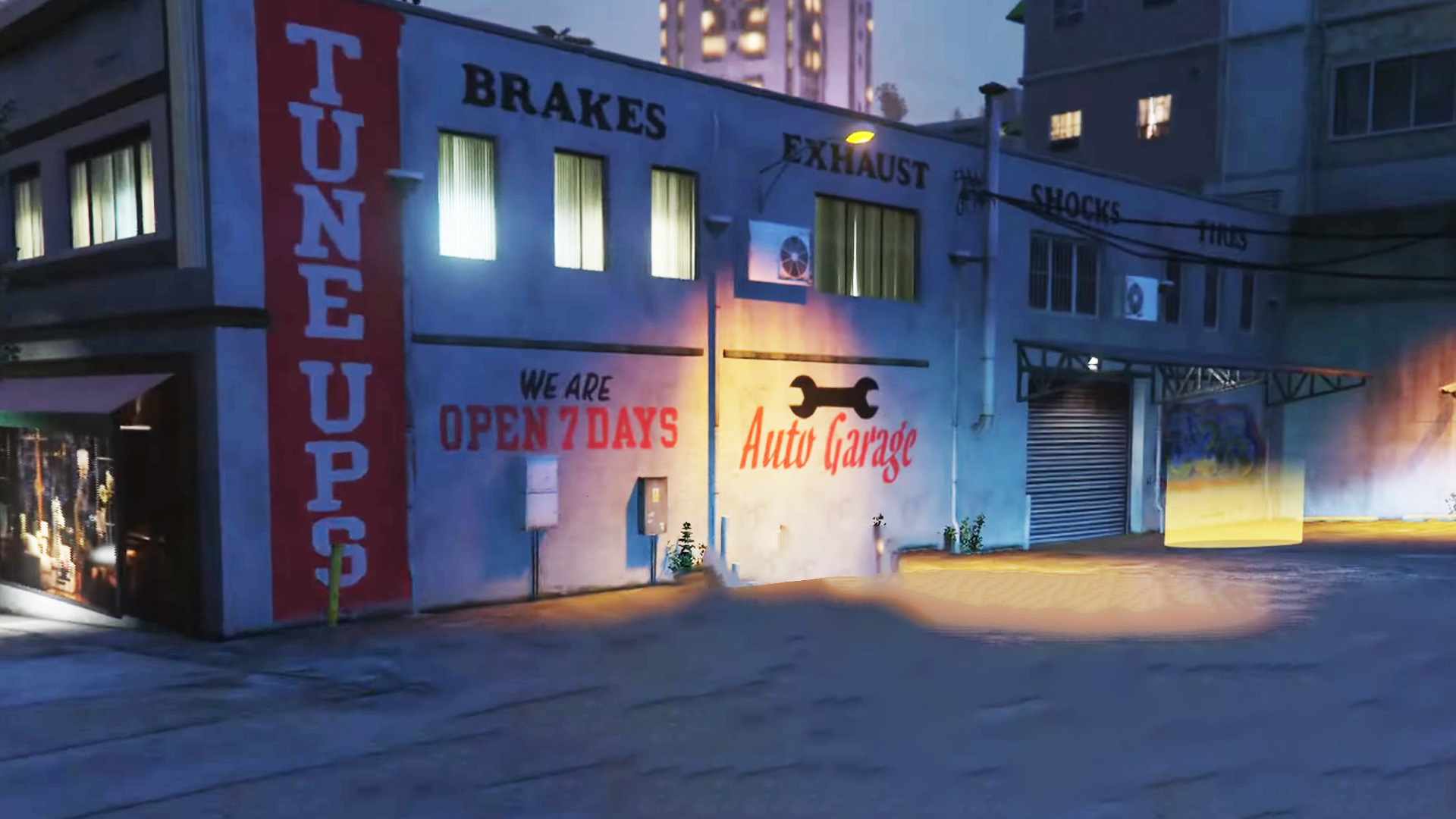 All GTA Auto Shop locations in the Los Santos Tuners update