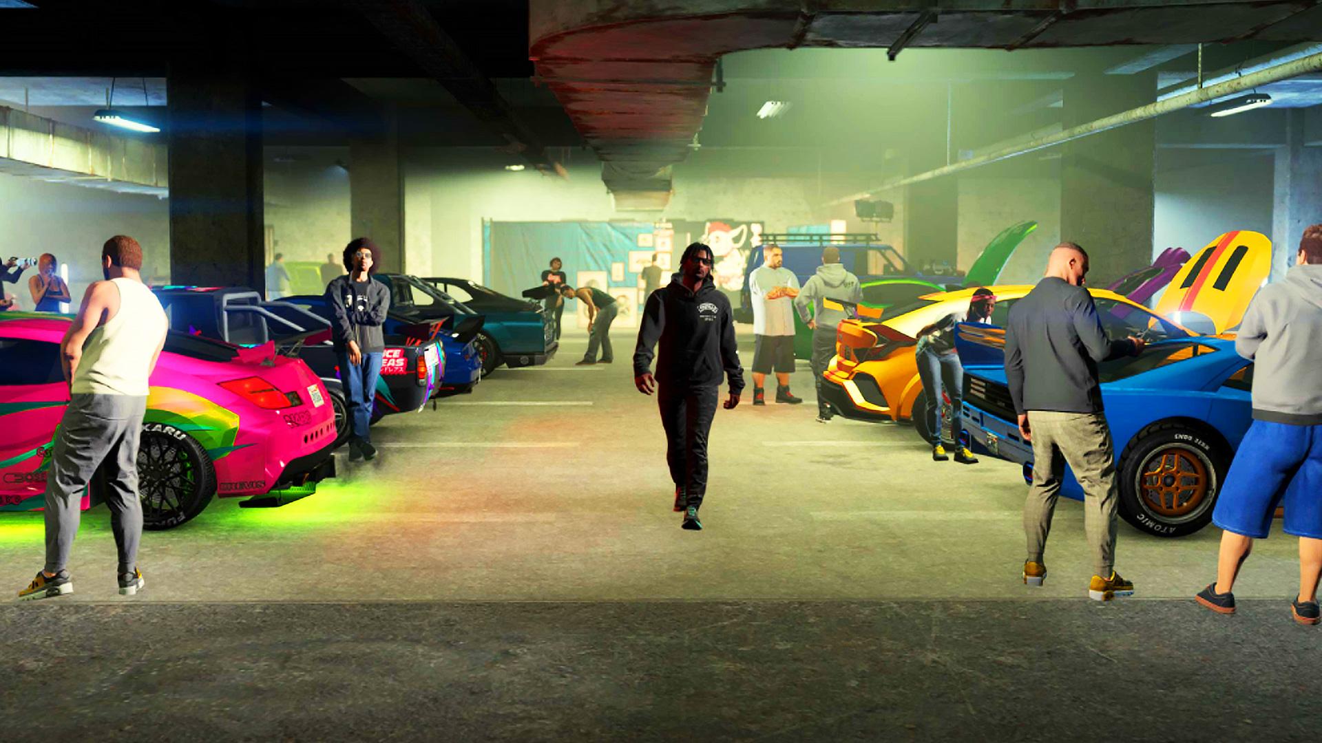 GTA Online's weekly update brings Los Santos Tuners race bonuses