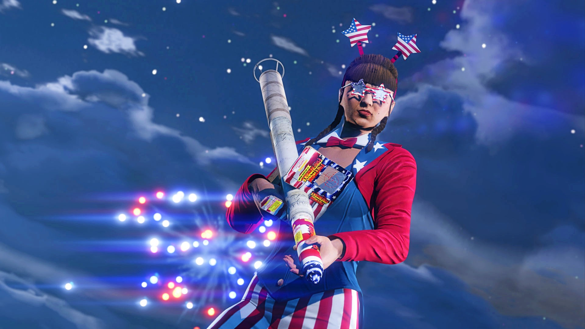 GTA Online's weekly update contains heaps of Independence Day goodies