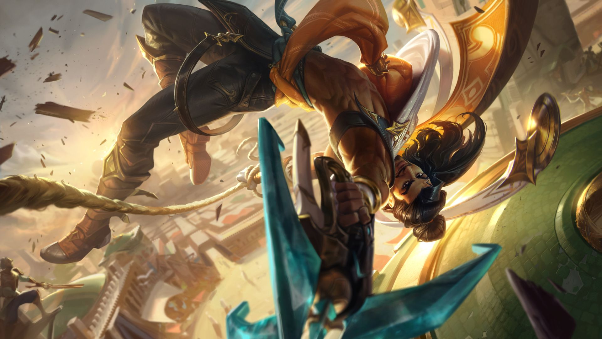 League of Legends' new champion is Akshan – here are his abilities