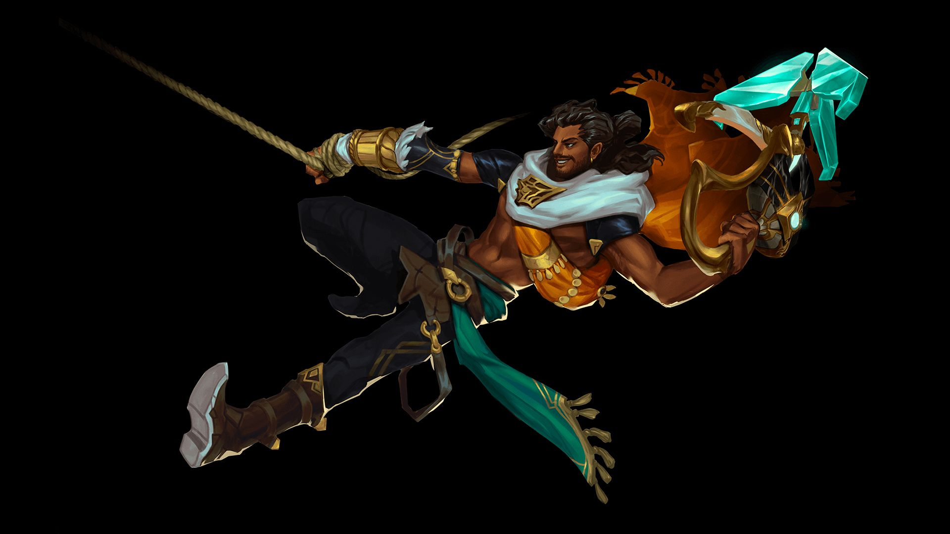 New LoL champion Akshan's grappling hook was tested for Camille years ago
