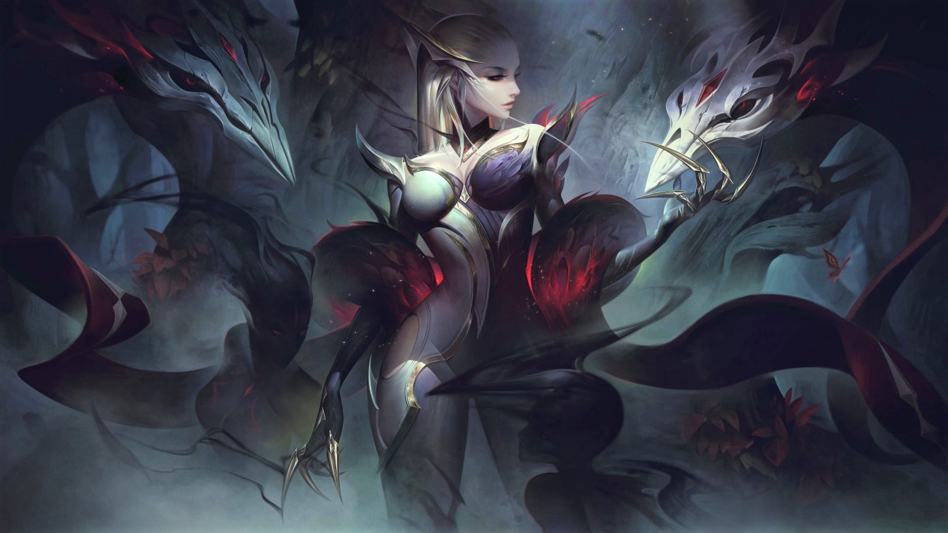 League of Legends piece of uncooked notes 11.16 – Coven pores and skin Evelynn Saint LeBlanc LEAD