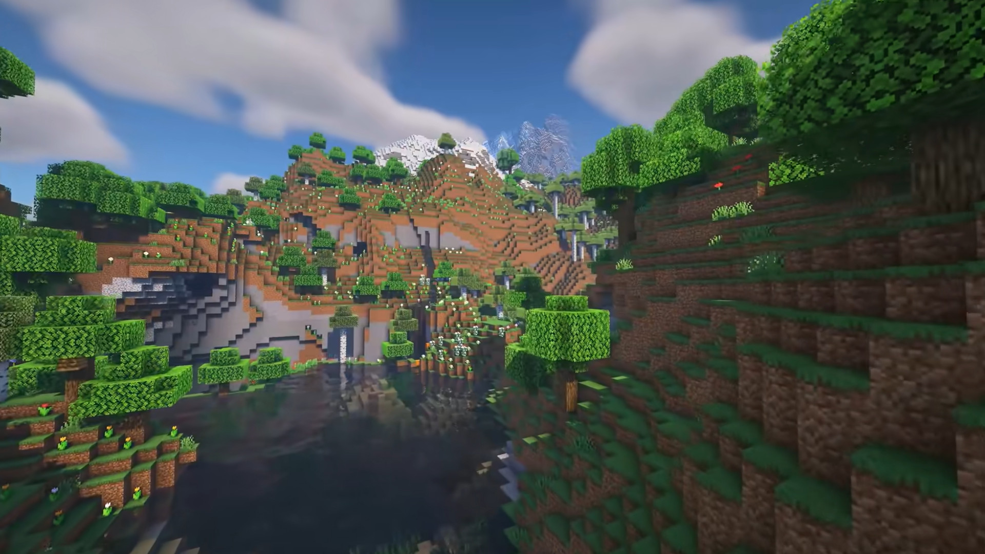 Minecraft's new natural environments are getting even better