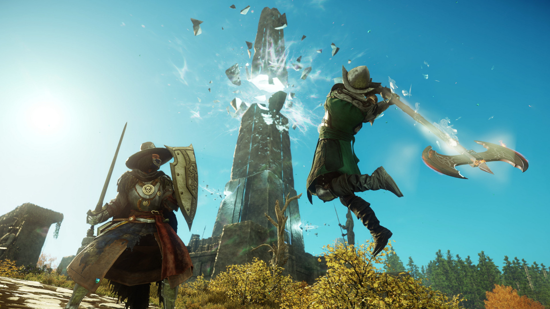 New World goes into closed beta, instantly reaches nearly 200k Steam players