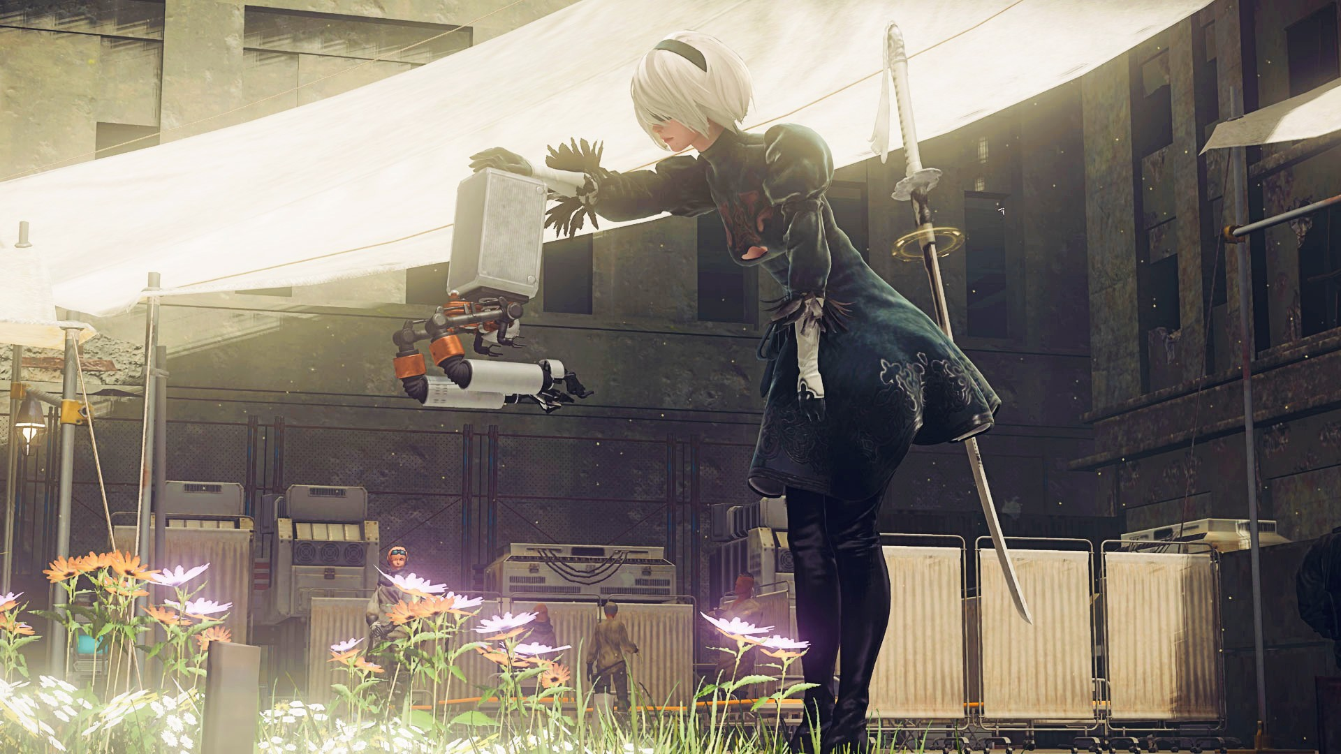 Nier: Automata gets its long-awaited Steam patch this week