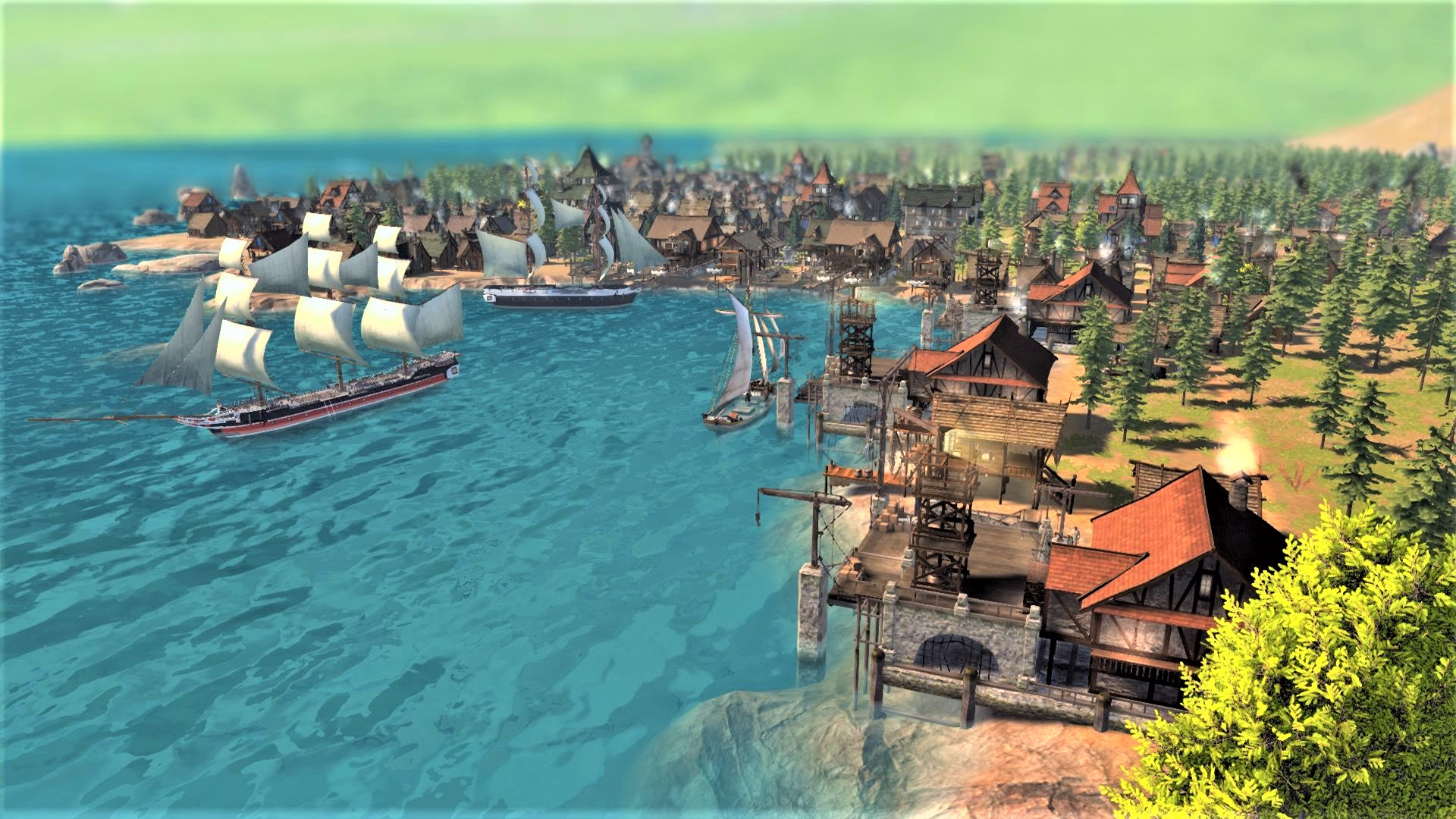 Patron is a medieval city builder with a new spin on social dynamics out next month
