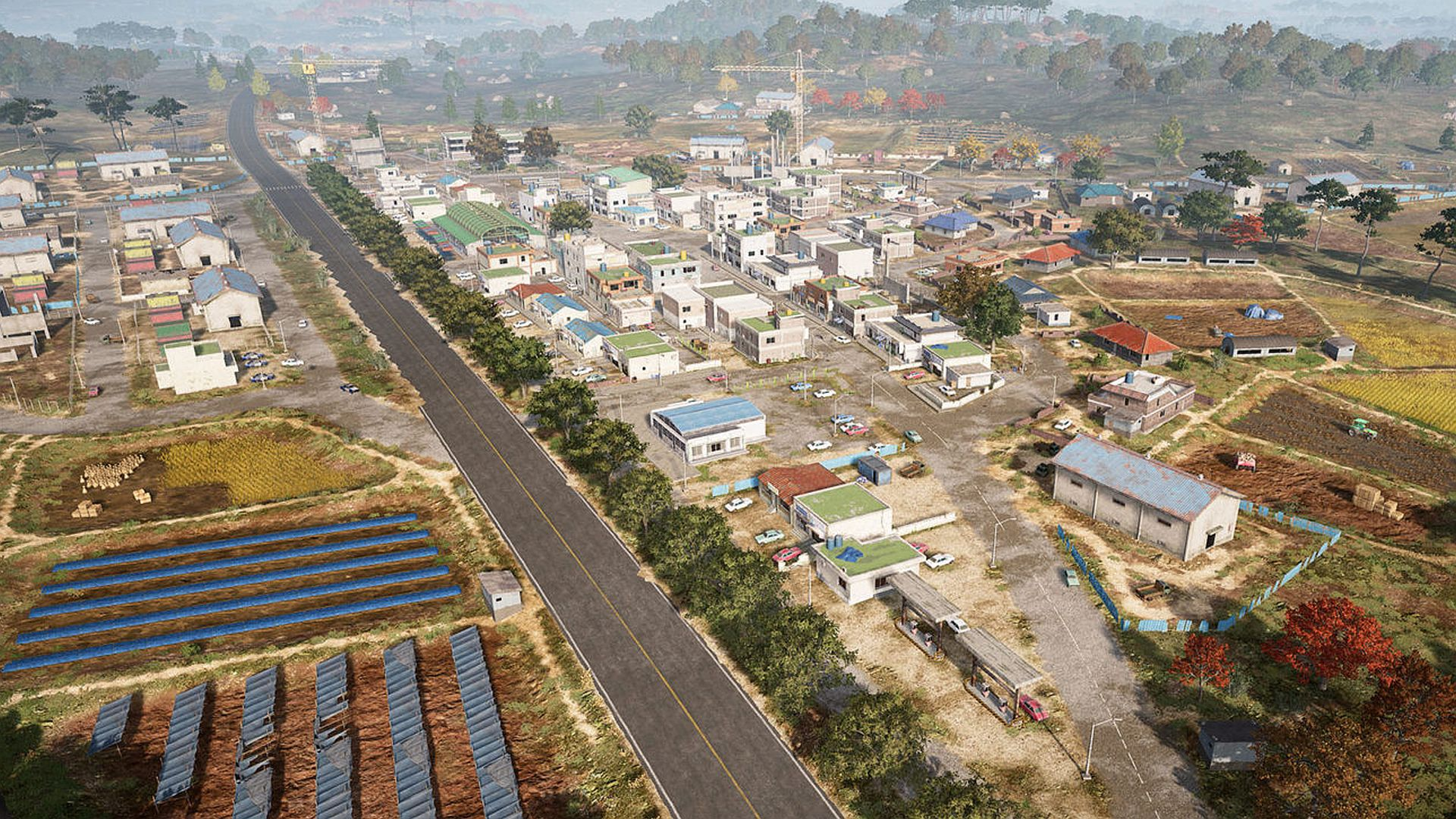 """PUBG map Taego was initially based on Seoul, but it """"turned out much differently"""""""