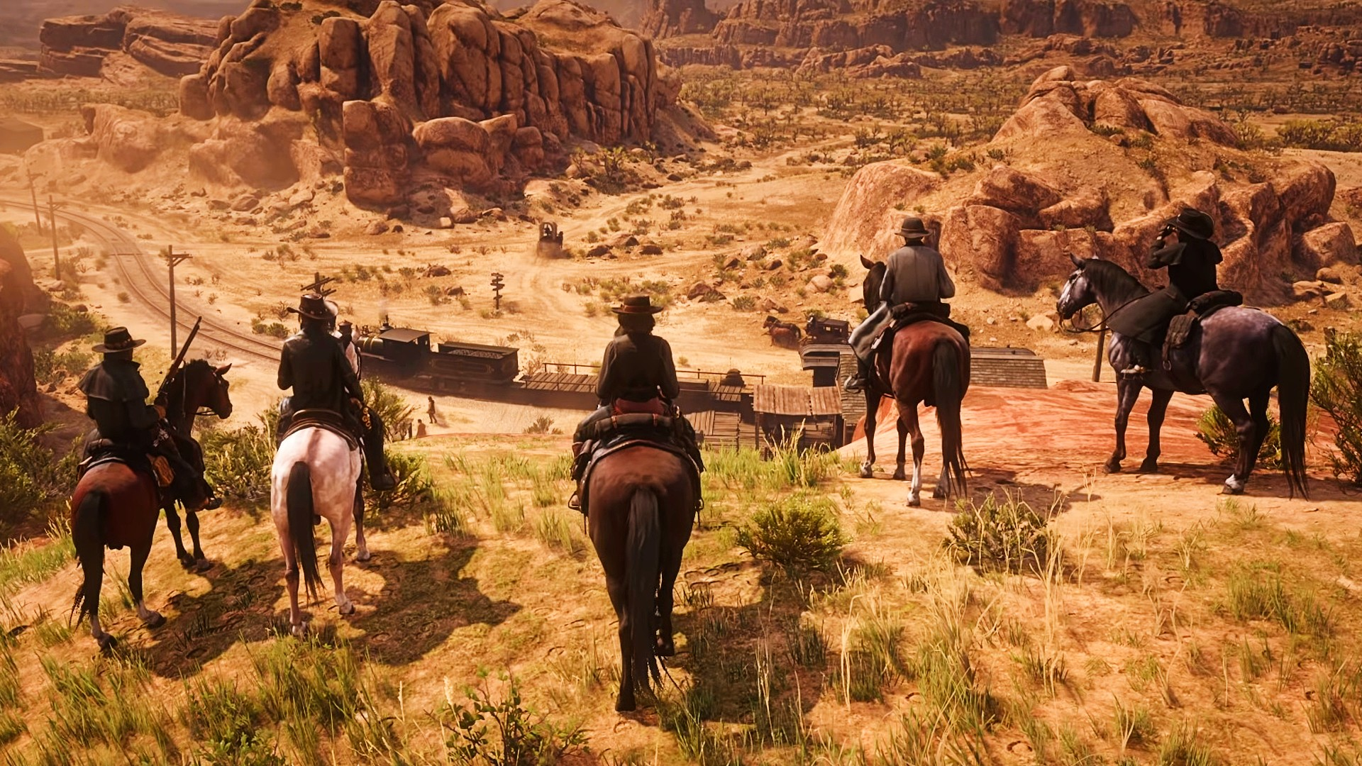 Red Dead Online: Blood Money features multi-stage robberies   PCGamesN
