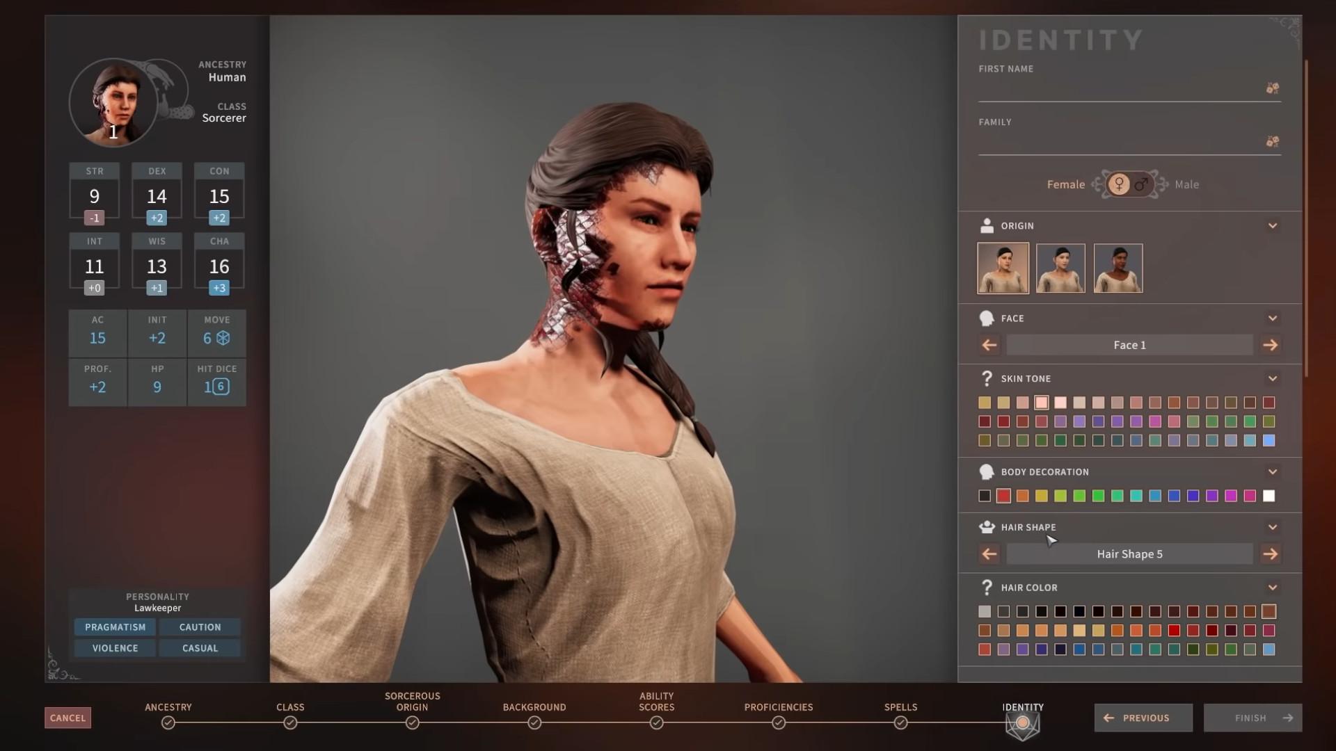 Solasta gets an update with D&D's 5E sorcerer class
