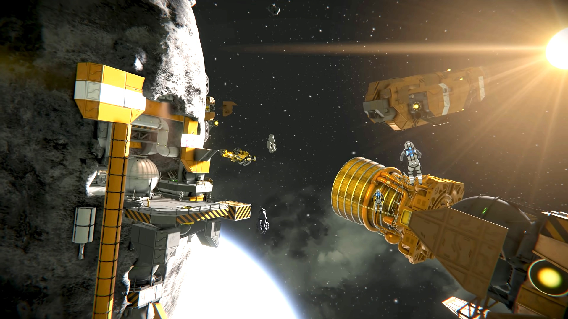 Space simulation game Space Engineers overhauls industry with over 100 new parts